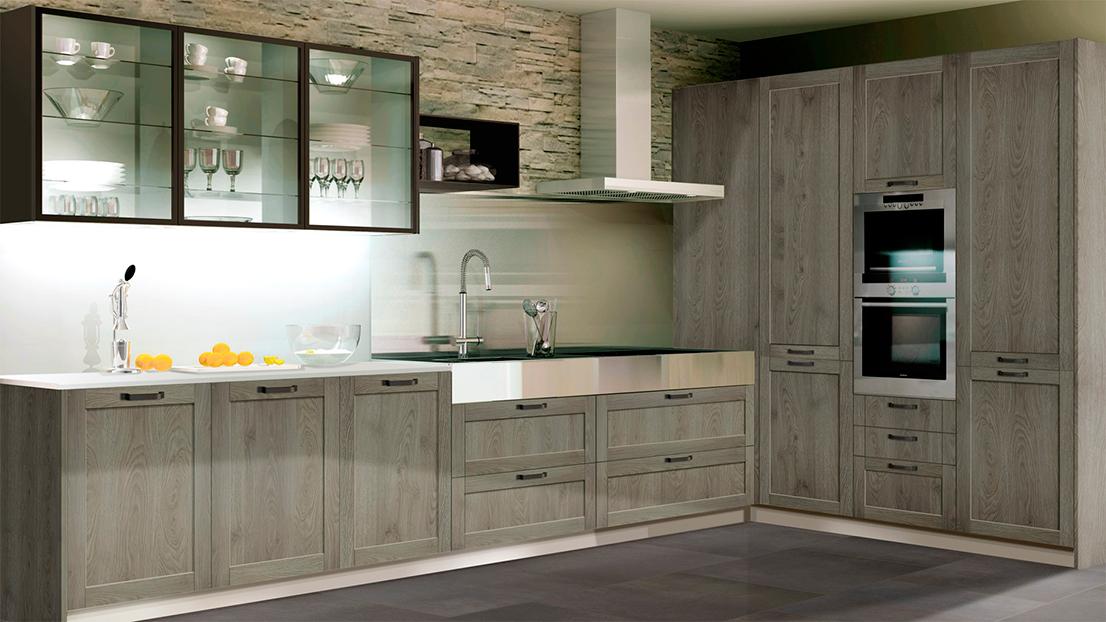 Los muebles de cocina: los mejores materiales para las puertas ...