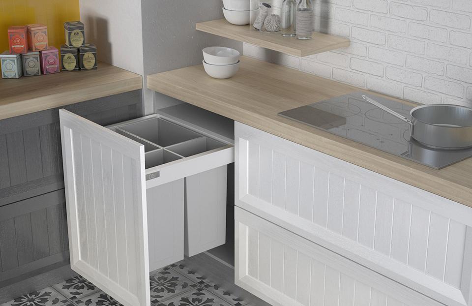 Muebles de cocina baratos y cocinas abiertas: un tándem perfecto ...